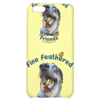 Fine Feathered Friends Bird Dog iPhone 5C Covers