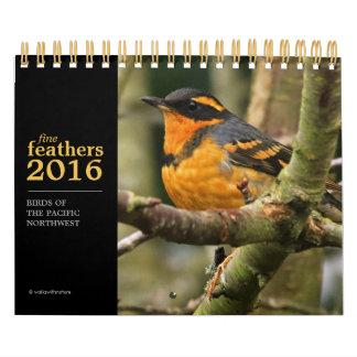 Fine Feathers 2016 Calendar