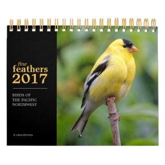 Fine Feathers 2017 Calendar