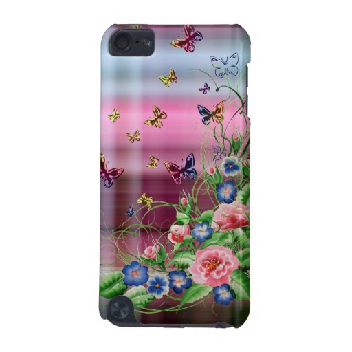 Fine flowers iPod touch (5th generation) covers