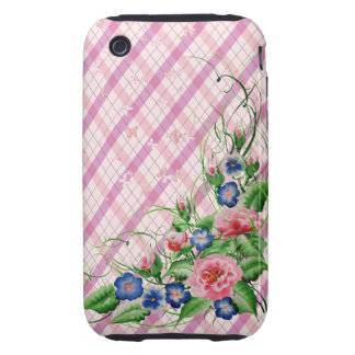 Fine flowers tough iPhone 3 cover