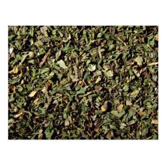 Fine herbs postcard