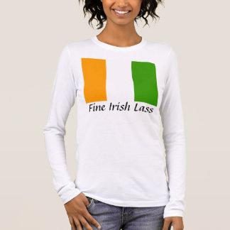 Fine Irish Lass Long Sleeve T-Shirt