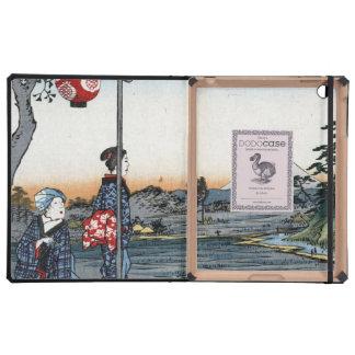Fine Japanese art Fujimi Teahouse Cover For iPad
