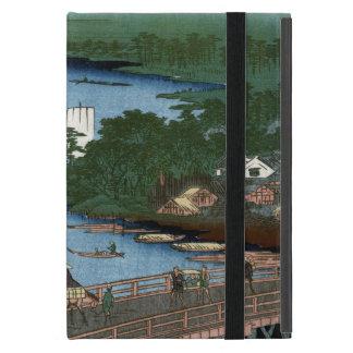 Fine Japanese art Senju wooden bridge iPad Mini Cases