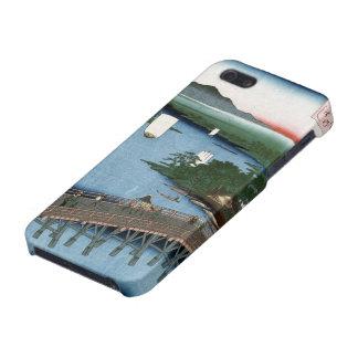 Fine Japanese art Senju wooden bridge iPhone 5 Covers