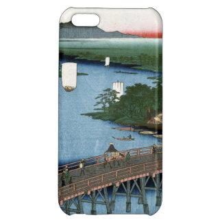 Fine Japanese art Senju wooden bridge iPhone 5C Cover
