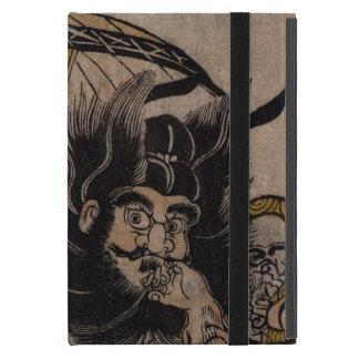 Fine Japanese art shoki courtesan umbrella iPad Mini Cases