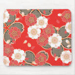 Fine Japanese Cute Cool Girly Retro Vector Mouse Pad