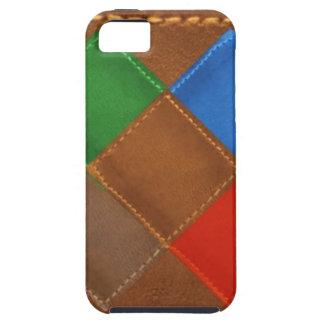 Fine Leather Craft Print iPhone SE/5/5s Case