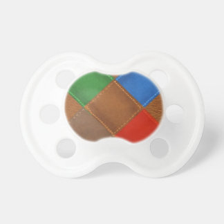 Fine Leather Craft Print Pacifiers