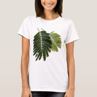 Fine Leaved Ferns Embossed T-Shirt
