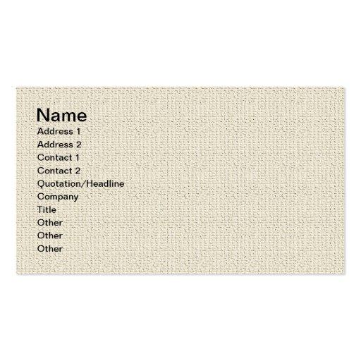 Fine Linen Professional Business Cards