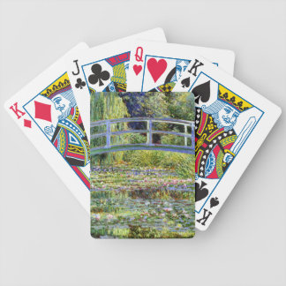 Fine Monet Japanese Bridge & Water-Lily Pond Bicycle Playing Cards
