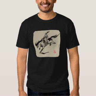 fine outfits with horse! t-shirt