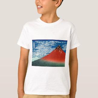 """Fine Wind ""of Katsushika Hokusai"" and Clear T-Shirt"
