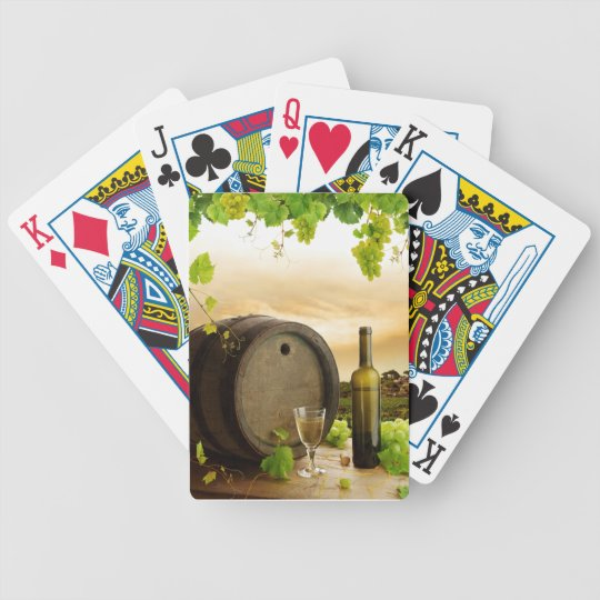 Fine Wine Bicycle Playing Cards