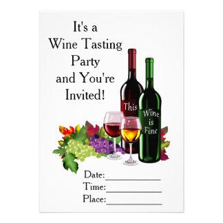 Fine Wine Card