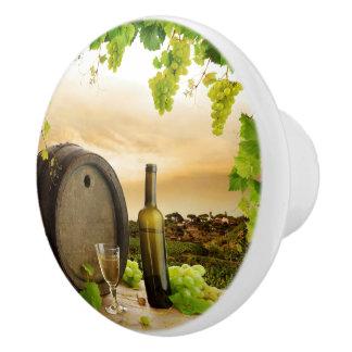 Fine Wine Ceramic Knob