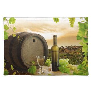 Fine Wine Cloth Place Mat