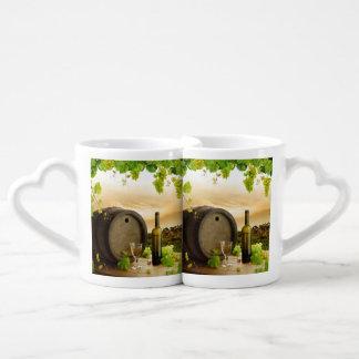 Fine Wine Coffee Mug Set