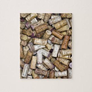 Fine Wine Corks Jigsaw Puzzle