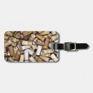 Fine Wine Corks Luggage Tag