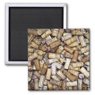 Fine Wine Corks Magnet