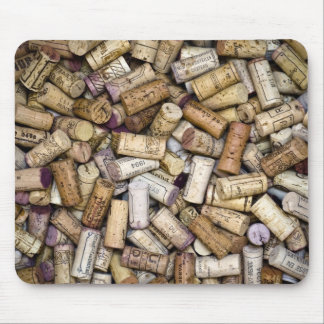 Fine Wine Corks Mouse Pad