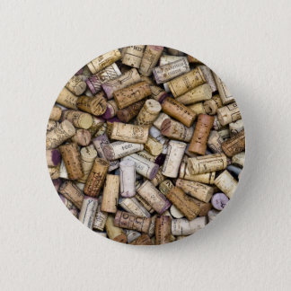 Fine Wine Corks Pinback Button