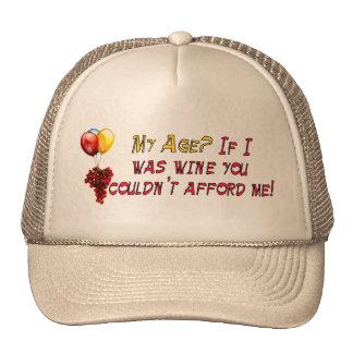 Fine Wine Trucker Hats