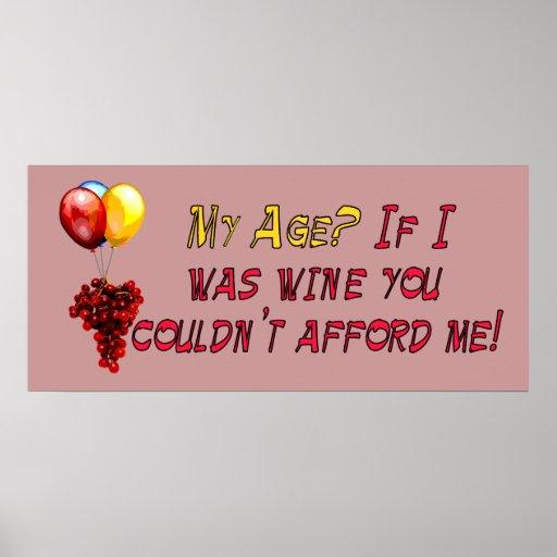Fine Wine Poster