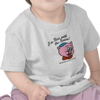 Fine With Swine Baby Shirt