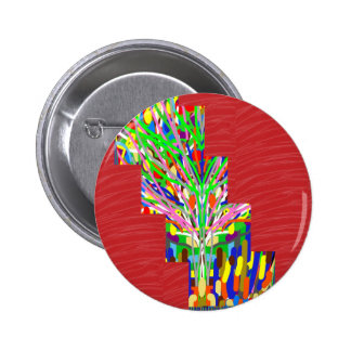FINEART and SILKY Red Base DIVA GIFTS lowprices 2 Inch Round Button