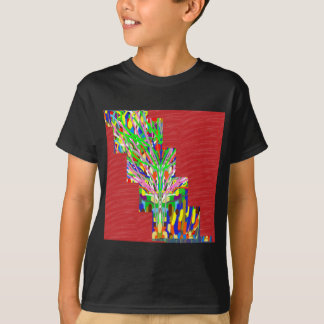 FINEART and SILKY Red Base DIVA GIFTS lowprices T-Shirt