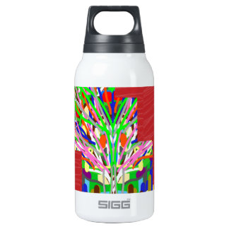 FINEART and SILKY Red Base DIVA lowprices Thermos Water Bottle