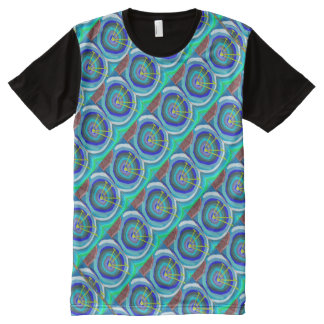 FineArt Graphics Patterns abstract antennas All-Over-Print T-Shirt