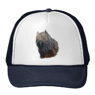 Fineart Mustang Horse truckers Style Hat