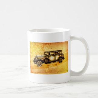 Fineart retro F055 del automóvil del vintage Taza De Café