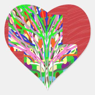 FINEART y lowprices bajos rojos SEDOSOS de los Pegatina En Forma De Corazón