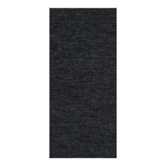 Finely Knit Charcoal Merino Wool Texture Rack Card