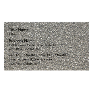 Finely pebbled beach business cards