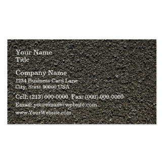 Finely pebbled beach business card templates