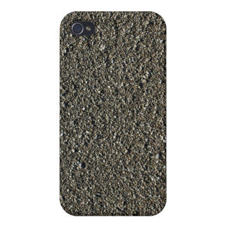 Finely pebbled beach covers for iPhone 4