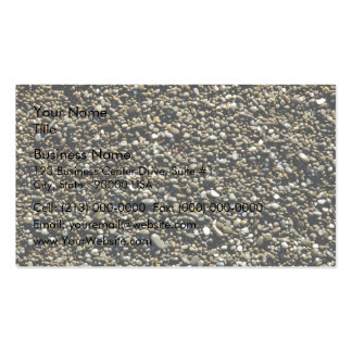 Finely Pebbled Beach Texture Business Card Template