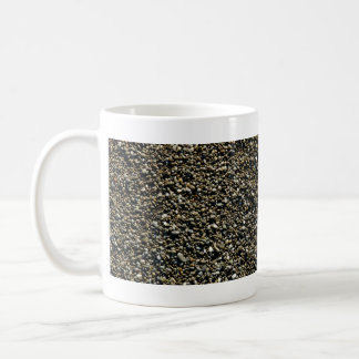 Finely Pebbled Beach Texture Coffee Mug