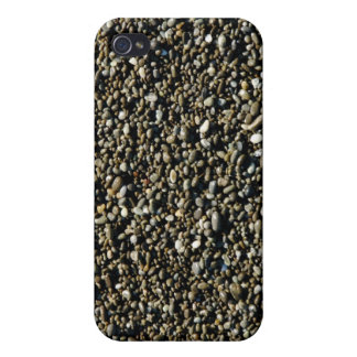 Finely Pebbled Beach Texture iPhone 4 Cases