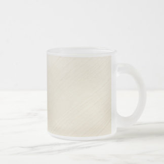Finery background frosted glass coffee mug