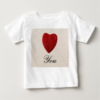 Finery background Love you Baby T-Shirt