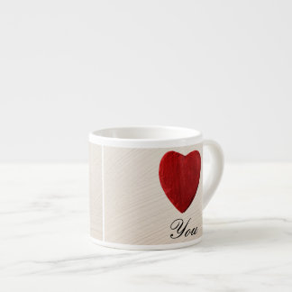 Finery background Love you Espresso Cup